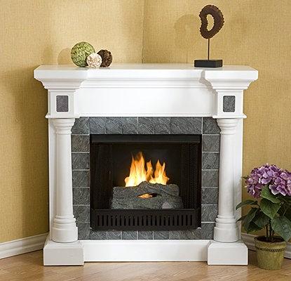 Газовые камины – это более удобная версия классического камина