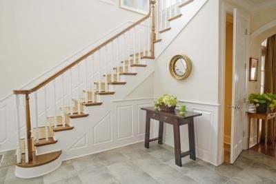 Высота между ступенями лестницы