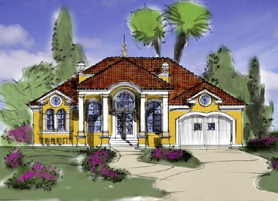 По окончании всего процесса вы получаете на руки готовый проект дома