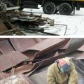 Демонтаж металлоконструкций, рекламы