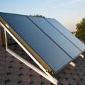 Установка и обвязка солнечных коллекторов