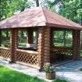 Строительство деревянных и кирпичных беседок, навесов и террас. С мангалом и без.