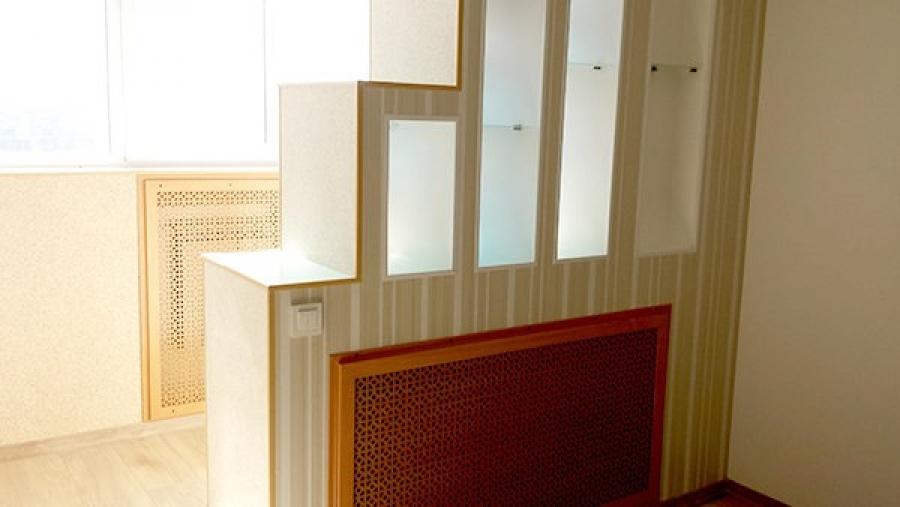 Преимущества объединения лоджии с кухней или комнатой - стро.