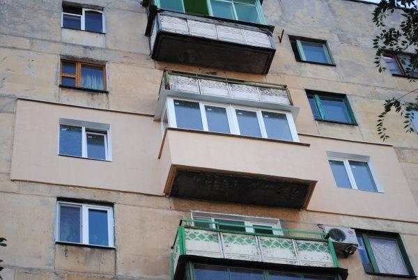 Виды работ по капитальному ремонту фасада
