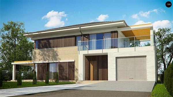 Современные частные дома – стиль, оригинальность, комфорт.