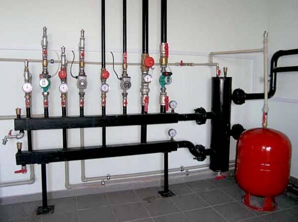 Гидрострелка системы отопления