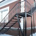Лестница и перила (металлические, кованные, деревянные) любой сложности: изготовление и установка