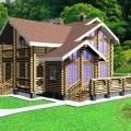 Проектирование деревянных домов, коттеджей и бань