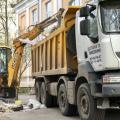 Вывоз строительного мусора от компании Трасавтогруп