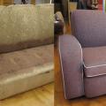Ремонт мягкой мебели на дому  , любой сложности  в течении дня . СУМЫ