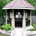 Беседка - это уникальный элемент дизайна Вашего двора, сада или участка, Ginko